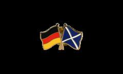Freundschaftspin Deutschland - Schottland - 22 mm