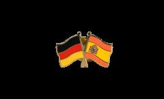Freundschaftspin Deutschland - Spanien - 22 mm