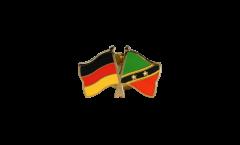 Freundschaftspin Deutschland - St. Kitts and Nevis - 22 mm