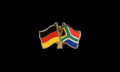 Freundschaftspin Deutschland - Südafrika - 22 mm