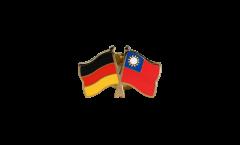 Freundschaftspin Deutschland - Taiwan - 22 mm