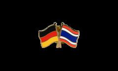 Freundschaftspin Deutschland - Thailand - 22 mm