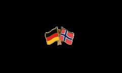 Freundschaftspin Deutschland - Norwegen - 22 mm
