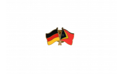 Freundschaftspin Deutschland - Osttimor - 22 mm