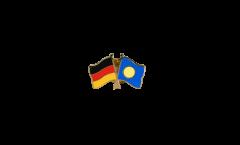 Freundschaftspin Deutschland - Palau - 22 mm