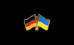 Freundschaftspin Deutschland - Ukraine - 22 mm
