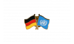 Freundschaftspin Deutschland - UNO - 22 mm
