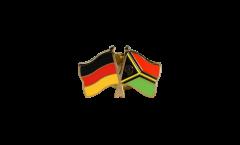 Freundschaftspin Deutschland - Vanuatu - 22 mm