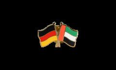 Freundschaftspin Deutschland - Vereinigte Arabische Emirate - 22 mm