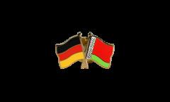 Freundschaftspin Deutschland - Weißrussland - 22 mm