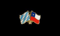 Freundschaftspin Bayern - Chile - 22 mm