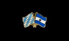 Freundschaftspin Bayern - El Salvador - 22 mm