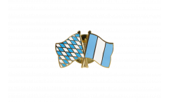 Freundschaftspin Bayern - Guatemala - 22 mm