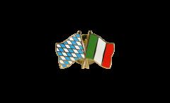 Freundschaftspin Bayern - Italien - 22 mm