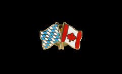 Freundschaftspin Bayern - Kanada - 22 mm