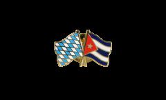 Freundschaftspin Bayern - Kuba - 22 mm