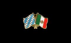 Freundschaftspin Bayern - Mexiko - 22 mm