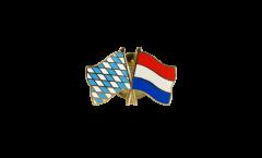 Freundschaftspin Bayern - Niederlande - 22 mm