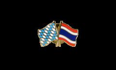 Freundschaftspin Bayern - Thailand - 22 mm