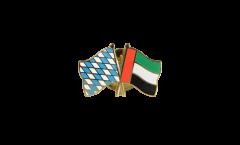 Freundschaftspin Bayern - Vereinigte Arabische Emirate - 22 mm