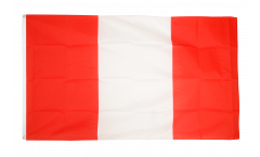 Flagge Peru ohne Wappen - 90 x 150 cm