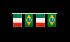 Freundschaftskette Italien - Brasilien - 15 x 22 cm