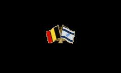 Freundschaftspin Belgien - Israel - 22 mm