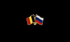 Freundschaftspin Belgien - Russland - 22 mm