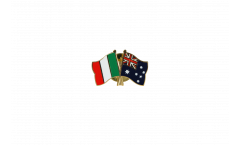 Freundschaftspin Italien - Australien - 22 mm