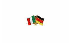 Freundschaftspin Italien - Deutschland - 22 mm