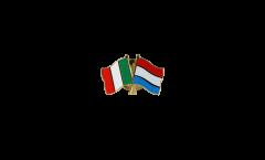 Freundschaftspin Italien - Luxemburg - 22 mm