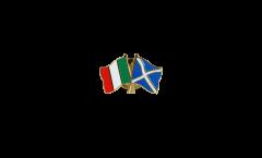 Freundschaftspin Italien - Schottland - 22 mm