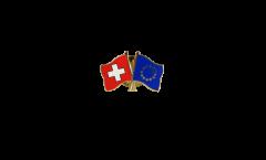 Freundschaftspin Schweiz - Europa - 22 mm