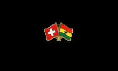 Freundschaftspin Schweiz - Ghana - 22 mm