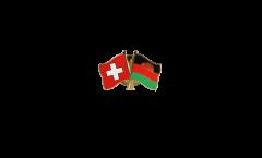 Freundschaftspin Schweiz - Malawi - 22 mm