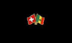 Freundschaftspin Schweiz - Senegal - 22 mm