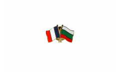 Freundschaftspin Frankreich - Bulgarien - 22 mm