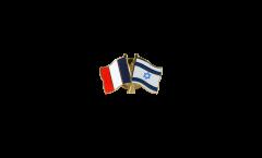 Freundschaftspin Frankreich - Israel - 22 mm