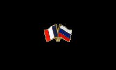 Freundschaftspin Frankreich - Russland - 22 mm
