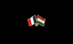 Freundschaftspin Frankreich - Ungarn - 22 mm