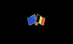Freundschaftspin Europa - Belgien - 22 mm