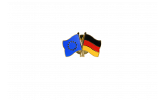 Freundschaftspin Europa - Deutschland - 22 mm