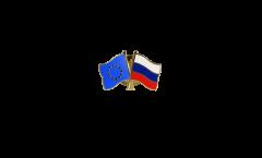 Freundschaftspin Europa - Russland - 22 mm