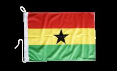 Bootsfahne Ghana - 30 x 40 cm