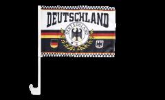 Autofahne Fanflagge Deutschland 7 - 30 x 40 cm