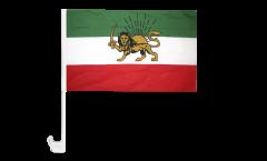 Autofahne Iran Shahzeit - 30 x 40 cm