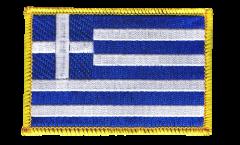 Aufnäher Griechenland - 8 x 6 cm