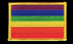 Aufnäher Regenbogen - 8 x 6 cm