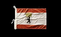Bootsfahne Deutschland Berlin mit Krone - 30 x 40 cm