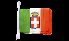 Fahnenkette Italien Königreich Armee 1861-1946 - 15 x 22 cm